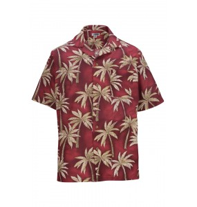 Tropical Palm Tree Camp Shirt