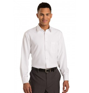 Batiste Lay Down Collar Dress Shirt