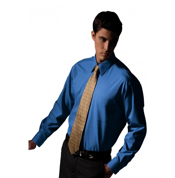 Pinpoint Oxford Long Sleeve Shirt