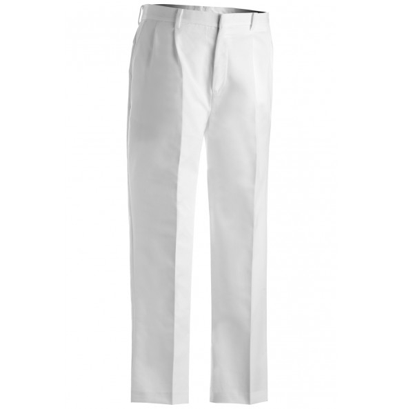 Business Casual Pleated Chino Pants