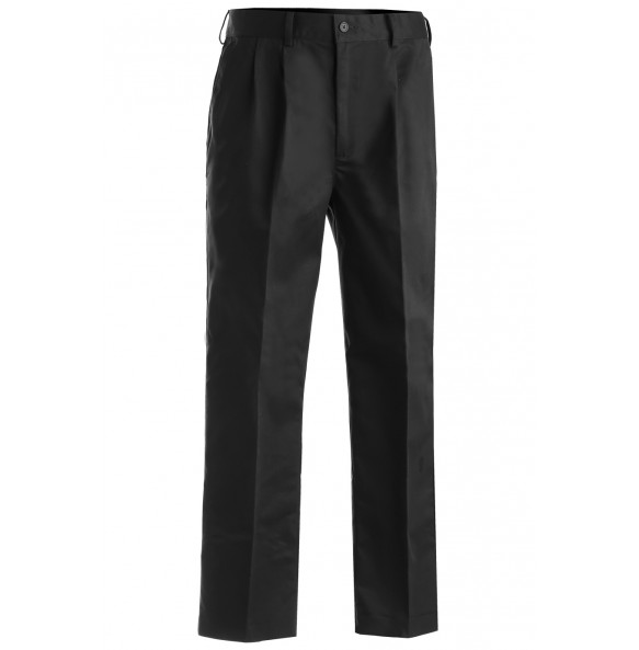Pleated Casual Chino Blend Pants
