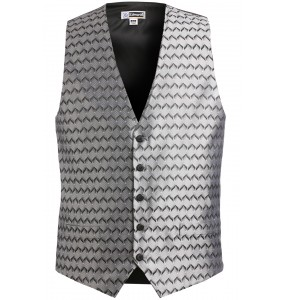 Swirl Brocade Formal Vest