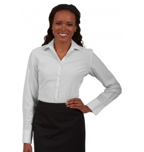Ladies Batiste Long Sleeve Shirt