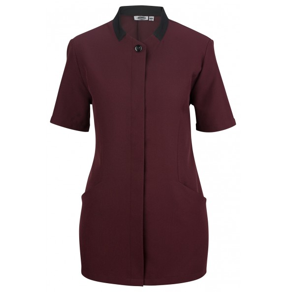 Housekeeping Solid Color Tunic