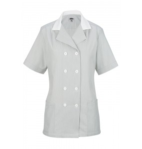 Housekeeping Pincord Double Breasted Tunic