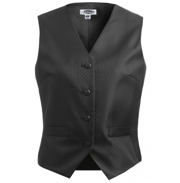Diamond Brocade Formal Vest