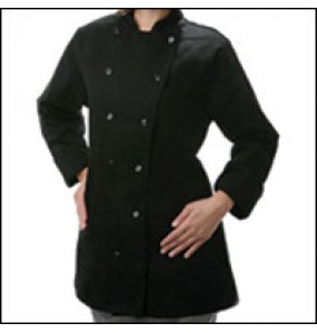 Ladies Fitted Chef Coat