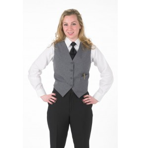 Ladies Vegan Full-back Formal Vest