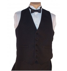 Women's Extended Length Full-back Formal Vest