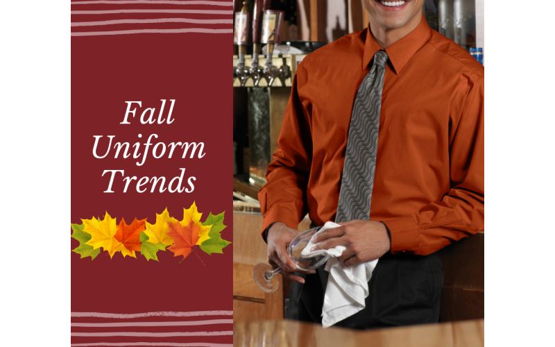 Update Your Staff's Look For Fall!