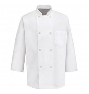 Classic 8 Button Chef Coat