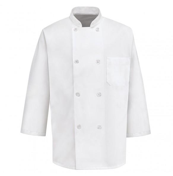 Classic 8 Button Chef Coat