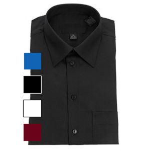 Classic Lay Down Collar Dress Shirt