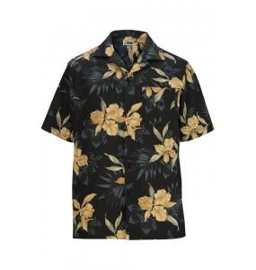 Island Print Camp Shirt