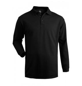 100% Cotton Performance Long Sleeve Polo