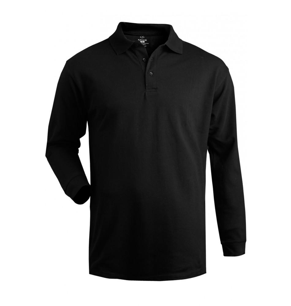100 Cotton Performance Long Sleeve Polo