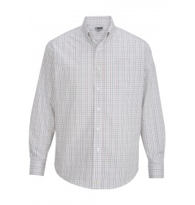 Tattersall Poplin Long Sleeve Shirt