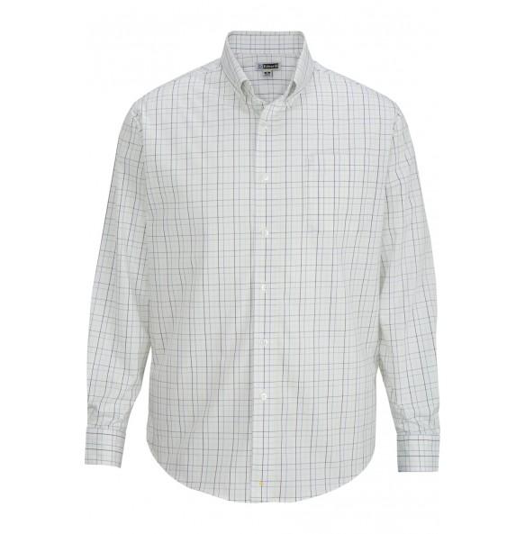 Tattersall Poplin Long Sleeve Shirt