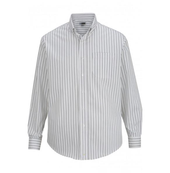 Double Stripe Dress Poplin Shirt
