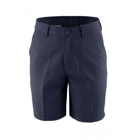 Flat Front Casual Chino Shorts