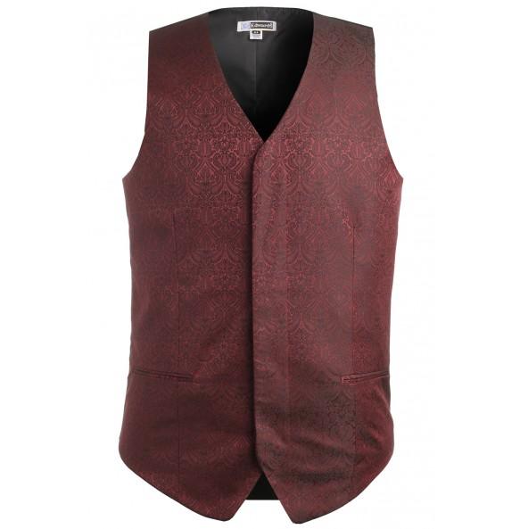 Paisley Brocade Formal Vest