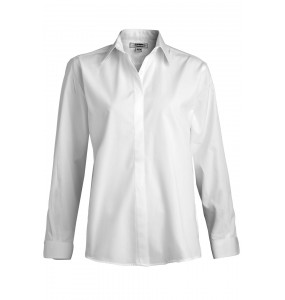 St. Louis Club Cafe Shirt with Covered Front Placket