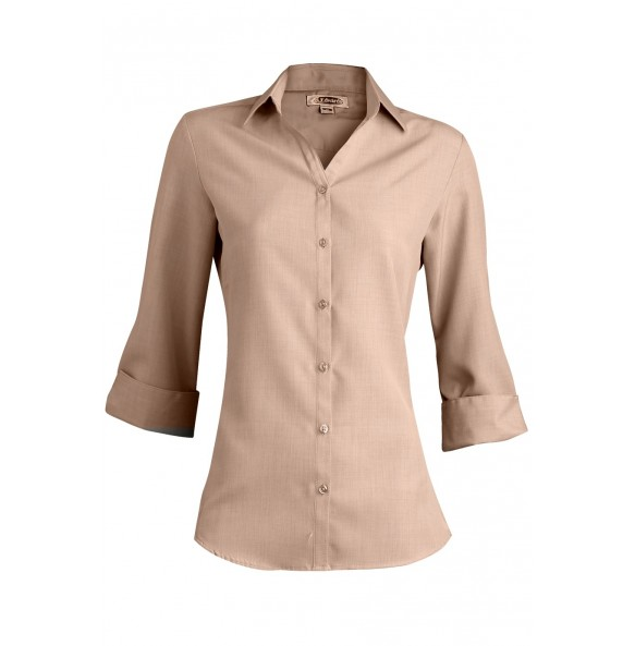 Batiste 3/4 Sleeve Collar Dress Shirt