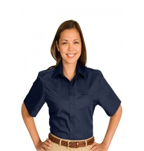 Cotton With Twill Short Sleeve Shirt