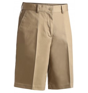Flat Front Chino Utility Shorts