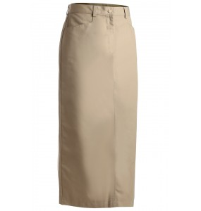 "Chino Skirt, ""Floor Length"""