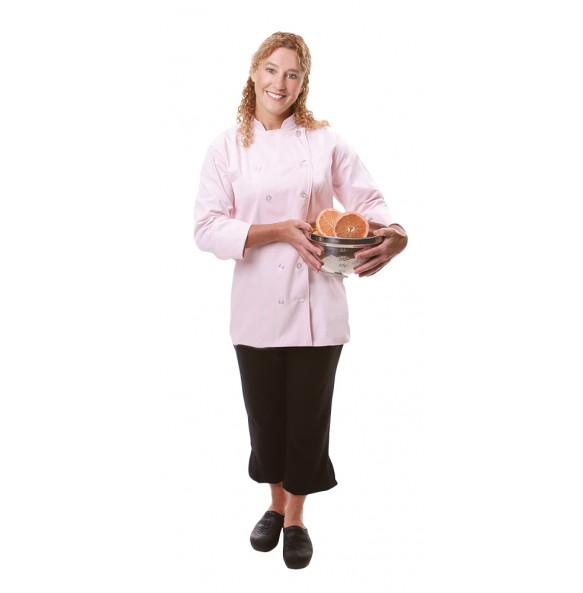 Ladies Fitted Chef Coat