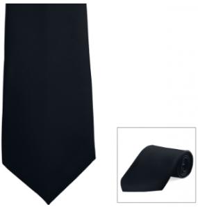 Poplin Zipper Tie