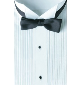 Tuxedo Shirt and Bowtie Package