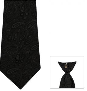 Clip-On Print Tie