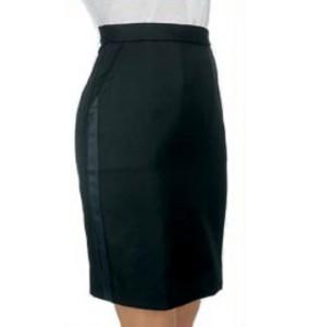 """Tuxedo Skirt, """"Above the Knee"""""""