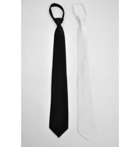 Slim Zipper Tie