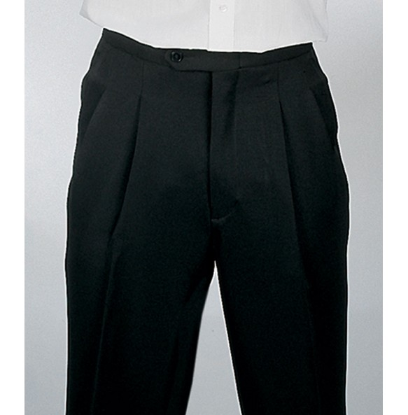 Vegan Adjustable Waist Tuxedo Pants