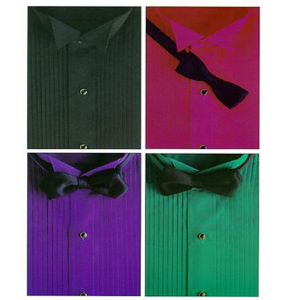 Colored Tuxedo Shirt