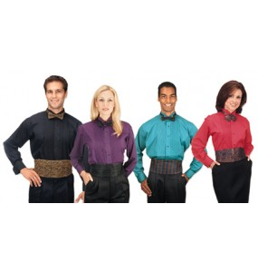 Colored Tuxedo Shirt