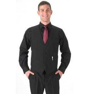 Mens Vegan Full-back Formal Vest