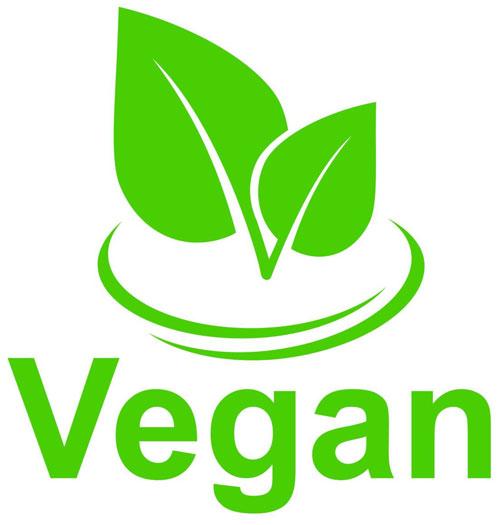 Resultado de imagen de logo vegan friendly